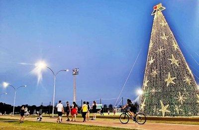 Contagiante espíritu navideño en el Este
