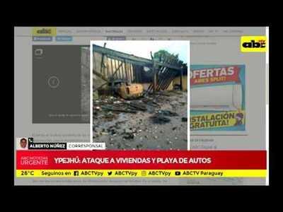 Ataque bélico en Ypejhú
