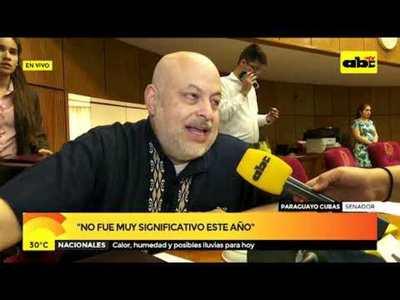 Payo Cubas: No fue muy significativo este año
