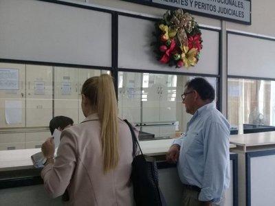 Presentaron amparo contra el TSJE por negarse a informar sobre actas electorales