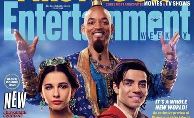 HOY /  Will Smith irreconocible: Disney comparte las primeras imágenes de Aladdin