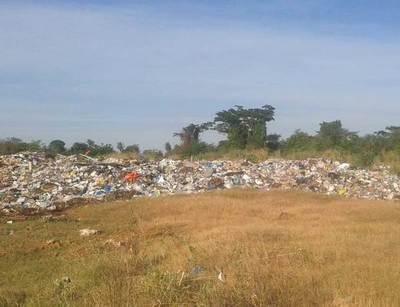 Botadero de basuras sigue en lamentable estado en Concepción