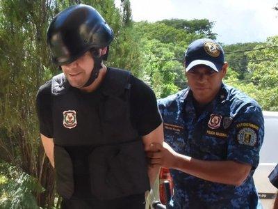 Cucho Cabaña ya guarda reclusión en la penitenciaría de Tacumbú