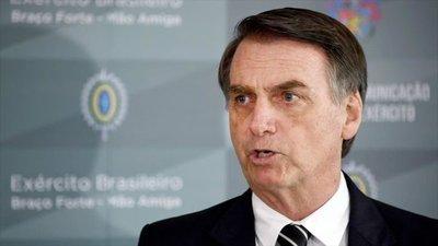 """Jair dijo que hará todo lo posible """"dentro de la legalidad"""" contra Cuba y Venezuela"""