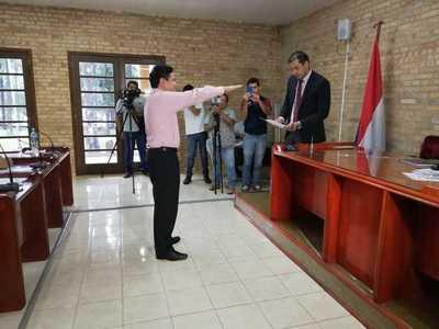 Corvalán es el nuevo presidente de la Junta Municipal de Ciudad del Este