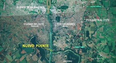 Producción paraguaya tendrá nuevos corredores de exportación con nuevos puentes con Brasil