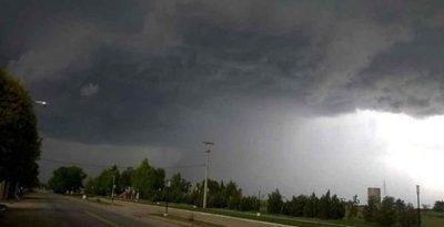 Alerta de tormentas para 9 departamentos