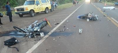 Accidentes en moto siguen liderando estadísticas