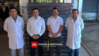 HOSPITAL RECIBIÓ VISITAS Y DONACIONES POR NAVIDAD.