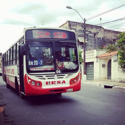 Línea 29 funciona como buses fantasmas