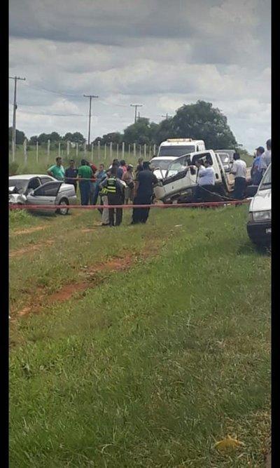 Joven pierde de la vida en accidente de tránsito en Juan Manuel Frutos