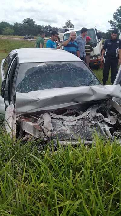 Funcionario judicial de Caaguazú fallece en accidente de transito