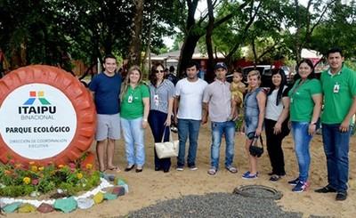 Parque ecológico habilitado en barrio San Miguel de Hernandarias