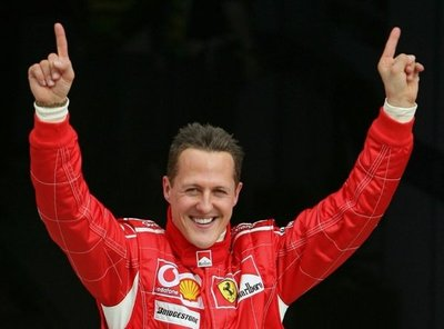 Schumacher y su 50 cumpleaños