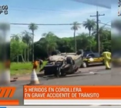 Hombre muere tras violento choque en Caacupé