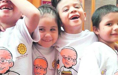 Año Nuevo, para compartir con la infancia en hogares