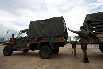 Brasilia ya está blindada con un inédito operativo de seguridad