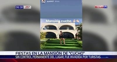 """Difunden imágenes de juerga en mansión de """"Cucho"""""""