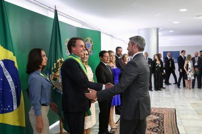 Paraguay consolida agenda bilateral con Brasil tras asunción del nuevo Presidente