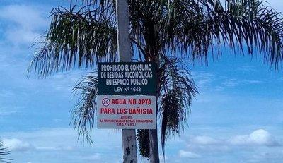 Alertan sobre playa de San Ber