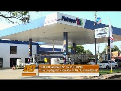 Detectan irregularidades por G. 30 mil millones en Petropar
