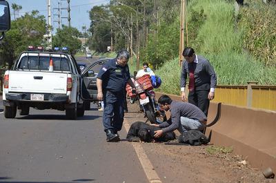 Motociclistas principales víctimas de accidentes en Ciudad del Este