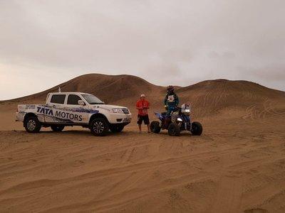 El Dakar 2019 se lanza al desierto de Perú