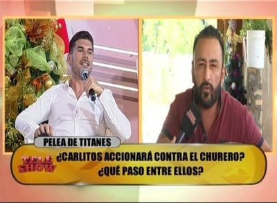 Churero vs Carlos Viveros, piden proctologo que determine cual es gay