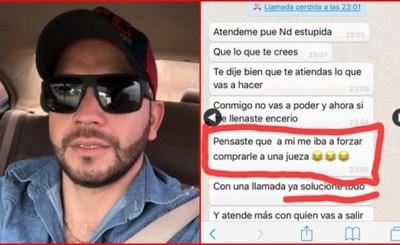 Mujer recibe amenazas de ex pareja tras denunciarlo por violencia