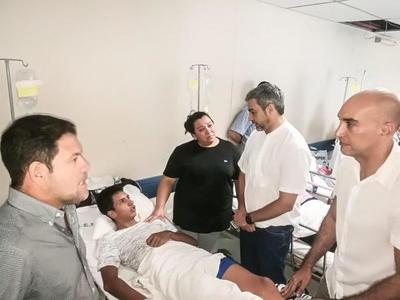 Jefe de Estado recorrió el Hospital Central del IPS