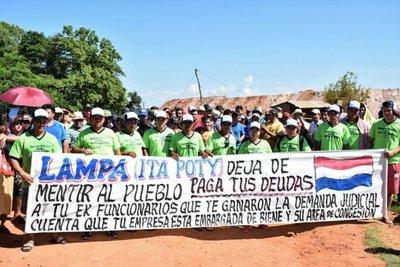 Mineros piden reactivar cantera irregular en Paso Yobái
