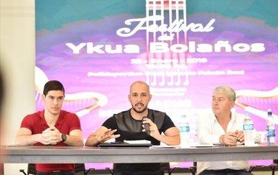 """Renombrados artistas nacionales e internacionales desfilarán en el """"Festival del Ykua Bolaños"""""""
