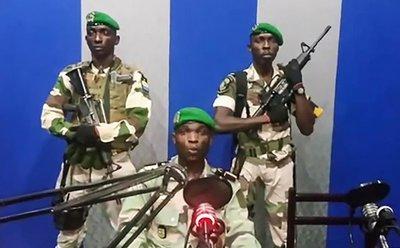 Fracasa en Gabón intento de golpe de Estado militar