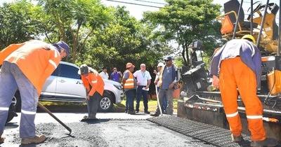 Realizarán pavimentación asfáltica en Cedrales y Naranjal