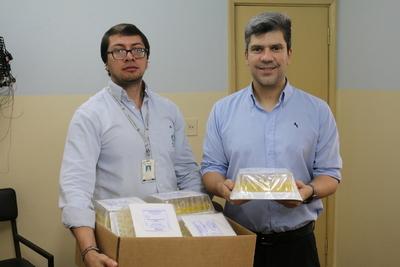 Tesãi dona más de 3.500 unidades de sueros fisiológicos a hospitales del Este