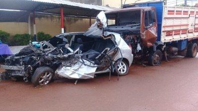 Automovilista fallece luego de ser embestido por camión