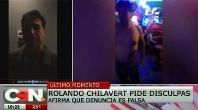 Denuncia de Chilavert resultó falsa y revelan imágenes escandalosas