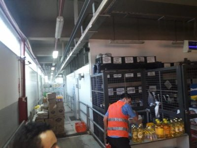 Controlan incendió de supermercado en Itá