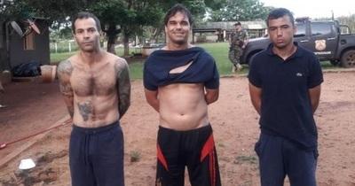 Capturan en Minga Guazú a miembros de organizaciones criminales del Brasil