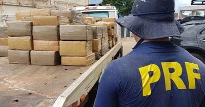 Policía Rodoviaria Federal incauta 51 toneladas de drogas en 2018