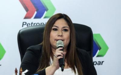 """Patricia Samudio: """"Yo no voy a renunciar, tengo la confianza del presidente"""""""