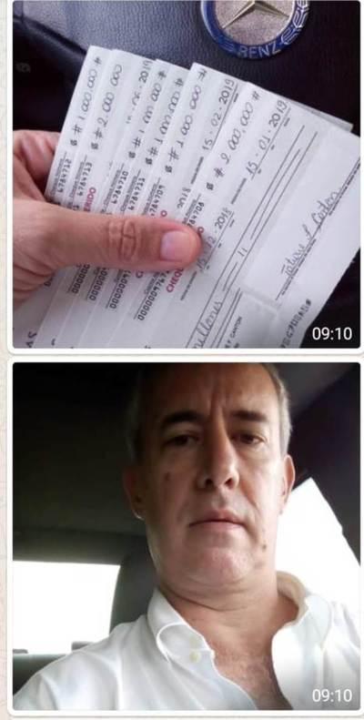 Abogado denuncia apropiación de cheques diferidos por millonario monto