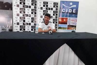 Olimpia: conferencia de prensa de Daniel Garnero en el CIDE