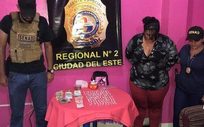 Desarticulan un foco de distribución de drogas en Ciudad del Este