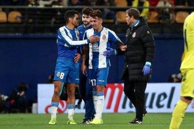 Hernán Pérez estará un mes de baja por un esguince de rodilla