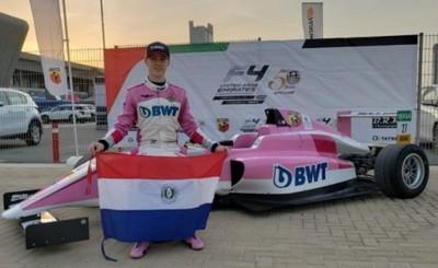 Adolescente paraguayo queda primero en carrera de F4 de Dubái