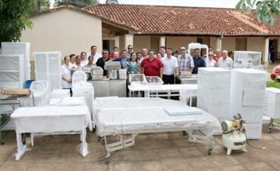 Tesai dona equipamientos y muebles a hospital de San José