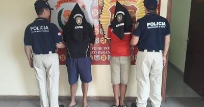 Caen dos sospechosos tras ser reconocidos por víctimas de robo