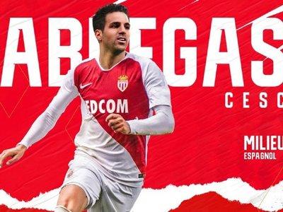 Cesc Fàbregas anuncia con un vídeo su fichaje por el Mónaco