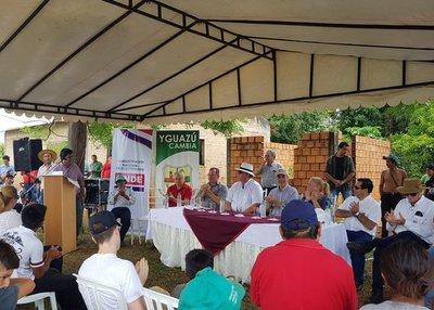 Habilitan obras de electrificación en comunidad indígena de Yguazú